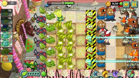 植物大战僵尸超时空之战:保护激光豆,奈何我们没实力