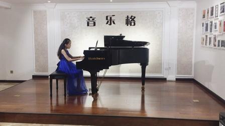 丁怡然--钢琴十级《前奏曲》巴赫十二平均律