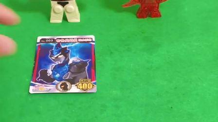 俩个怪兽把奥特曼都变成了卡片,怪兽太猖狂了,发红心救救奥特曼!