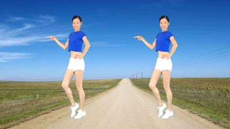 精选32步广场舞《走在乡间的小路上》纯音乐口哨版