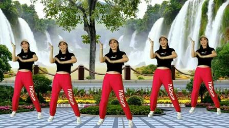 广晋广场舞《爱疯了》