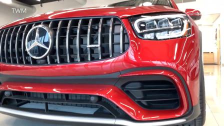 2020 梅赛德斯 奔驰 AMG GLC 63 超高细节 真车实拍