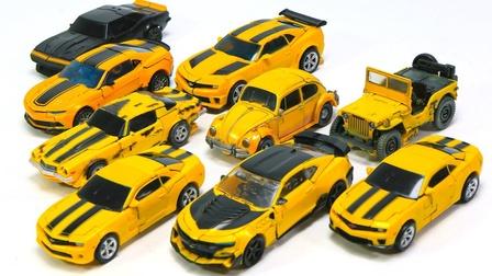 变形金刚电影工作室系列吉普甲虫卡玛洛大黄蜂5汽车机器人玩具