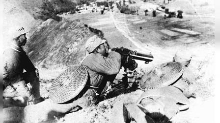 1937年太原会战的老照片,战争已经成为历史