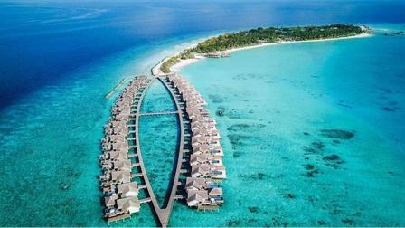 马尔代夫最美的岛屿之一,女孩梦寐以求的蜜月之地!