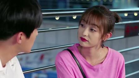 青春斗:金鑫楼梯上怒摔鲜花,贝贝却和沈严相谈言欢!