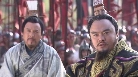 韩信跟反贼决斗,没想到皇上却在山下看戏,等他们两虎相争