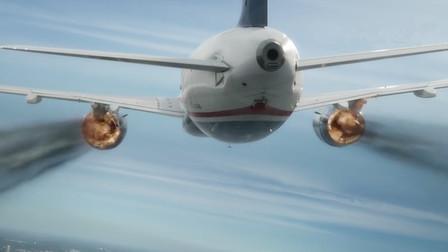 飞机卷入鸟群,机长一个大胆的操作救了全机155人,真实空难电影