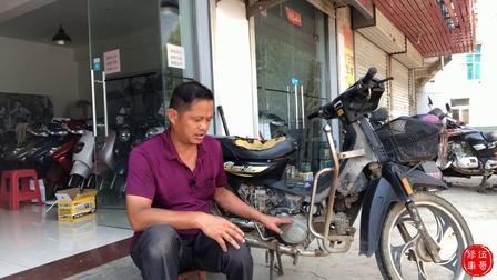 水淹摩托车维修技巧!看专业师傅是怎么操作的,学会不花冤枉钱