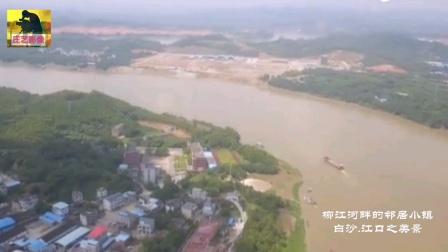广西柳州市柳江河畔上的邻居乡镇~白沙镇·江口乡美景!