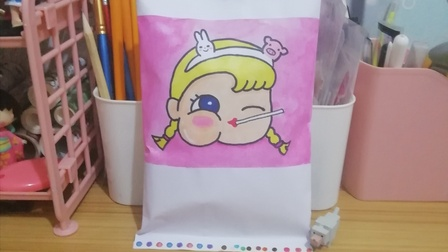 【笑笑食玩铺】自制食玩包,小女孩,棒棒糖🍭