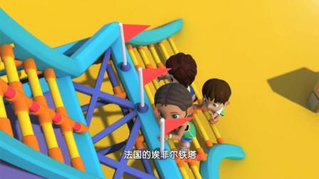 超级飞侠:儿童节的游乐场,小朋友们很开心,里面要有闯关比赛!