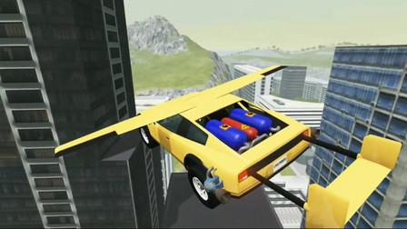 车祸模拟器96 马路上铺满减速带在上面开车这感觉好酸爽终生难忘