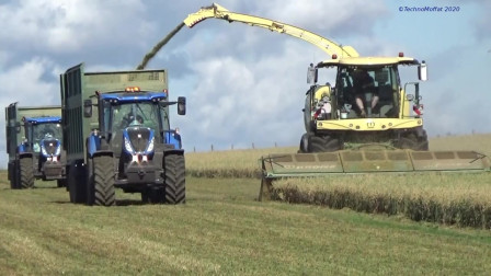 配合默契,大农场干活效率就是高