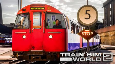 TSW2 贝克卢线 #1:清晨从伦敦路车库开走一列1972Stock投入线路运营 | 模拟火车世界 2