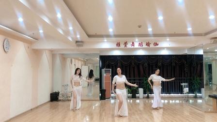 郑州肚皮舞提升班《爱的命运》—雅萱舞蹈瑜伽