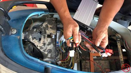 电动车控制器接线技巧,专业老师傅告诉你,小白看完也能换控制器
