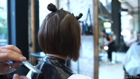 短发怎样结合动静时尚元素修剪,供美发师学习