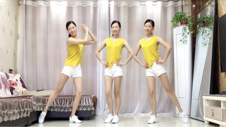 网红健身操《碧海潮生》最新64步广场舞