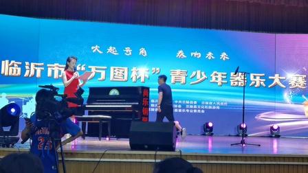 笛子独奏《塔塔尔族舞曲》一等奖获得者 张敬族