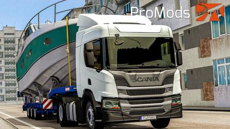 欧洲卡车模拟2 #340:Promods新版本2.50试玩 坐一天一夜船把船送到格鲁吉亚 | Euro Truck Simulator 2