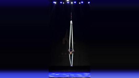 2020中国空中舞蹈公开赛空中吊床(空中瑜珈)亚军刘冰