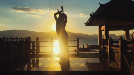 优雅之光 东方舞 丽雯湖边即兴 不一样的肚皮舞