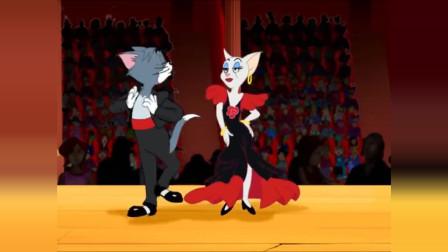 猫和老鼠:Tom和Jerry斗舞!最后把整个房子都跳没了!