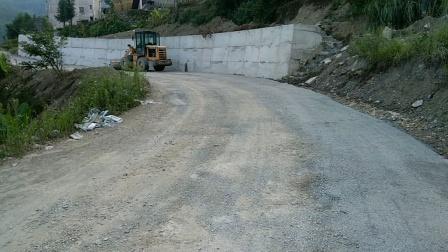 乡村道路整修路基