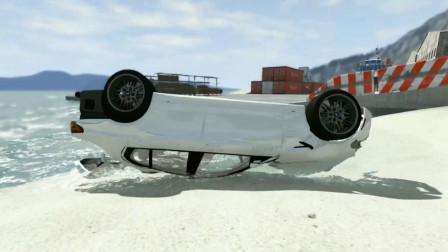 车祸模拟器100 宝马山路狂踩刹车惹怒超跑司机 疯狂飙车闯下大祸