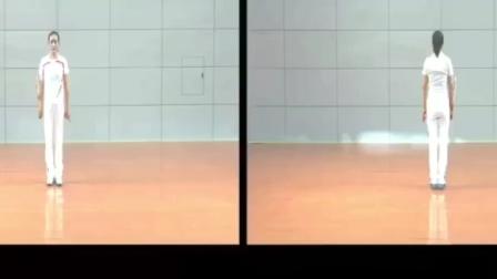 柔力球新技术推广套路《平凡之路》 起势2x8拍 分节教学