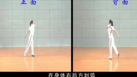 柔力球新技术推广套路《平凡之路》第三节教学万象繁盛6x8拍