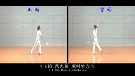 柔力球新技术推广套路《平凡之路》第八节教学泽被后世4x8拍