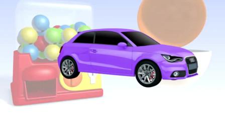 挖土机玩具视频 汽车总动员98