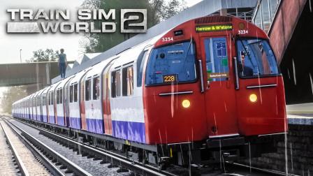 TSW2 贝克卢线 #2:雨中行驶于与铁路线并行的地上区段 | 模拟火车世界 2