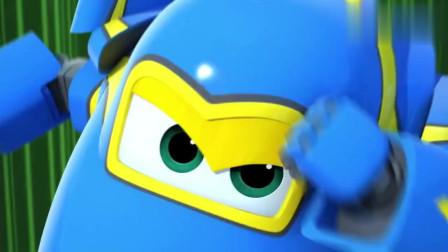 超级飞侠:这次酷飞是快递员,可惜出师不利,被猴子攻击了