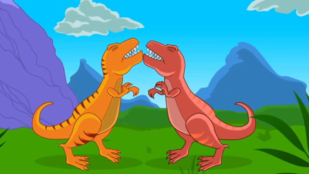 侏罗纪世界 恐龙总动员 恐龙玩具视频207