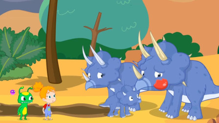 侏罗纪世界 恐龙总动员 恐龙玩具视频205