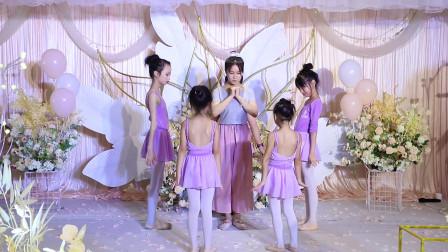 花儿舞蹈学员展示《暖暖+马德里不思议+是心动啊》婚礼舞蹈串烧