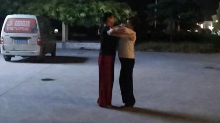 2020.8.31.孙家集街道孙家集广场交谊舞