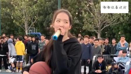 会打篮球的女生太美了,我一女的都被迷住了