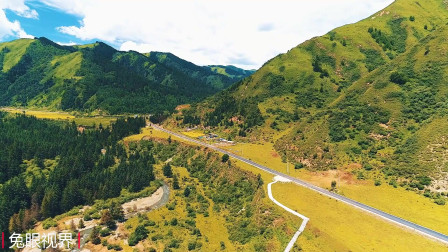 这不是四川也不是云南,这是甘肃甘南大山深处,这是你要的乡村吗