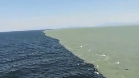 地球海洋的分界线,一半清澈一半浑浊,日本人研究其中奥秘