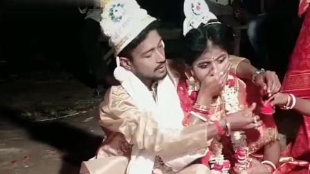 尼泊尔国家证明已婚的发际红,新娘子真的太美了,这样的习俗你见过吗?