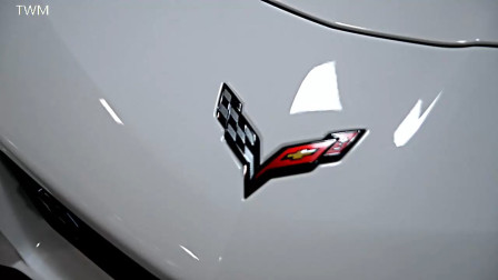雪佛兰 克尔维特 ZR1 敞篷超跑 真车实拍