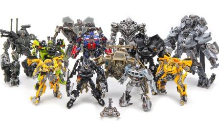 变形金刚电影2007工作室系列汽车人霸天虎12机器人玩具