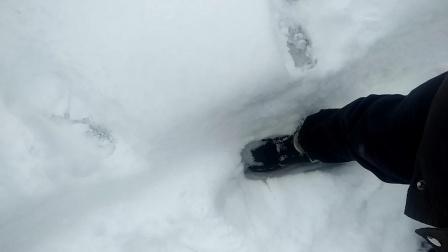 这一脚有多深