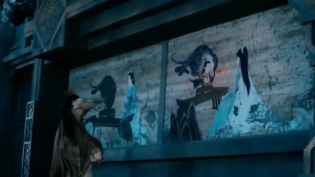 司凤看到墙上的壁画,更加确定战神就是计都,一剑将其摧毁!