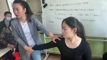 中医正骨推拿治疗肩周炎胳膊疼痛全套手法讲解实操