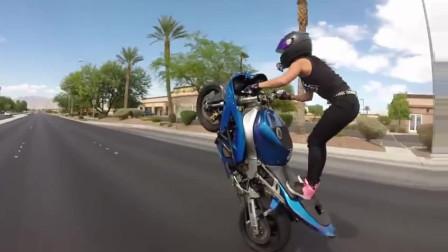 摩托车能玩成这样,够我学一辈子了